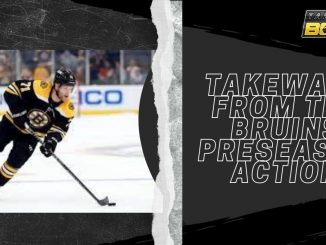 Takeways from the Bruins Preseason Action